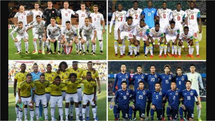 Grup H yang terdiri dari Polandia, Kolombia, Senegal dan Jepang mungkin paling sedikit memperoleh perhatian karena nama-nama yang kurang terkenal di kancah sepak bola dunia.
