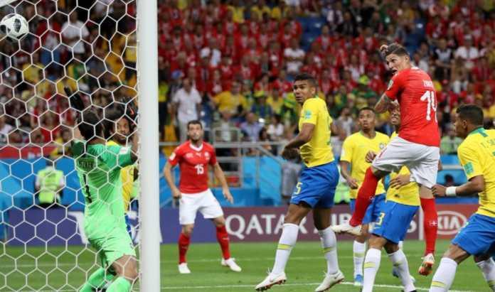 Hasil Brasil vs Swiss, Piala Dunia 2018