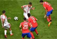 Kosta Rika berusaha mengulangi penampilan hebatnya di Brasil 2014, tapi Serbia memberi perlawanan dalam laga Piala Dunia 2018 mereka, Minggu malam.