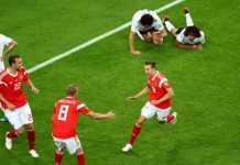 Hasil Rusia vs Mesir, Piala Dunia 2018