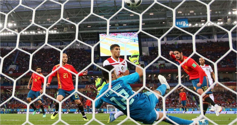 Hasil Spanyol vs Maroko, Skor Akhir 2-2