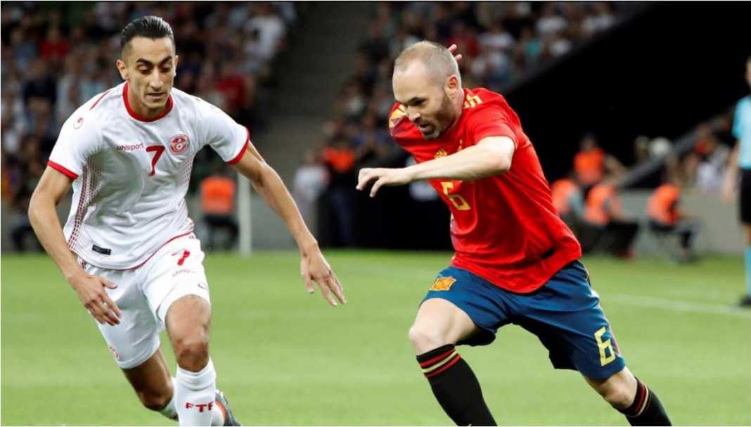 Hasil Tunisia vs Spanyol, Skor Akhir 0-1 - Gilabola.com