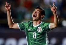 Barcelona masuk daftar klub papan atas yang tengah memburu bintang Timnas Meksiko di Piala Dunia 2018, Hirving Lozano.