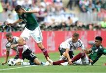 Meksiko berhasil mengejutkan juara bertahan Jerman 1-0 pada laga pertama Grup F Piala Dunia 2018, Minggu malam.