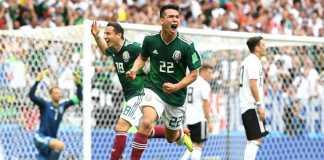 Jerman vs Meksiko, Piala Dunia 2018