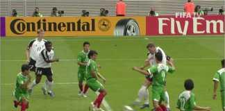 Jerman lawan Meksiko pada semi final Piala Konfederasi 2017. Mereka akan kembali berhadapan di Piala Dunia 2018.