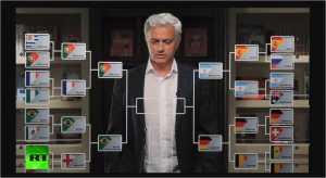 Jose Mourinho dibayar Rp 30 Milyar untuk jadi komentator bagi Russia Today dan ia meramalkan empat semifinalis Piala Dunia 2018