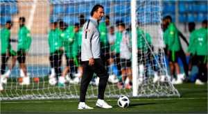 Manajer timnas Arab Saudi menjanjikan kejutan bagi tuan rumah Rusia pada laga perdana Piala Dunia 2018