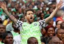Meme Lionel Messi mengenakan jersey Nigeria bertebaran karena sebuah kemenangan bagi Nigeria atas Islandia akan menyelamatkan Argentina, setidaknya sementara.