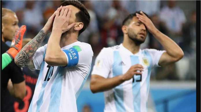 Lionel Messi terancam gagal tampil di perempat final jika menerima kartu kuning pada laga Prancis vs Argentina di Piala Dunia 2018, Sabtu malam ini.