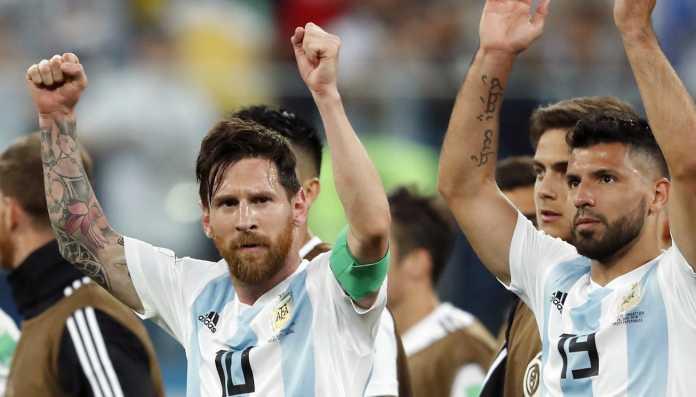 Lionel Messi dan Skuad Timnas Argentina