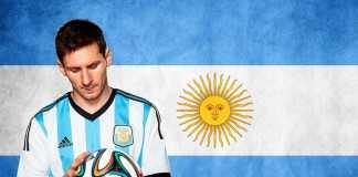 Lionel Messi sang Kapten Timnas Argentina