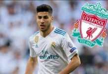 Liverpool tertarik datangkan Marco Asensio dan berani sodorkan tawaran selangit untuk dapatkan pemain itu dari Real Madrid.