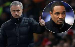 Manajer Jose Mourinho dan Legenda Manchester United Paul Ince