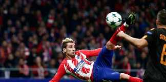 Bintang Atletico Madrid, Antoine Griezmann, disebut-sebut tentukan nasib Barcelona musim depan.