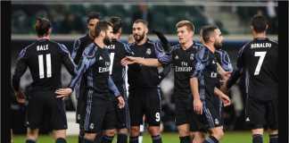 Mateo Kovacic menyelamatkan Real Madrid dengan gol penyama skor 3-3 pada laga melawan Legia Warsawa di ajang Liga Champions pada bulan November 2016 ini.