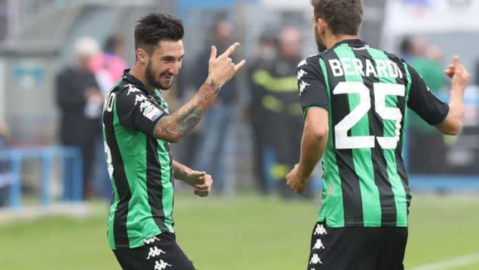 Winger Sassuolo, Matteo Politano, jadi incaran tim-tim papan atas di Italia.