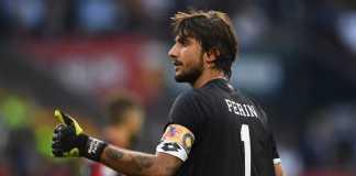 Kiper Genoa, Mattia Perin, jalani tes medis di Juventus jelang akhir pekan ini.