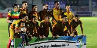 Pertandingan Mitra Kukar vs Perseru Serui di ajang Liga 1 Indonesia usai dengan skor 2-0.