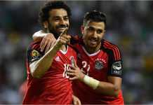 Mohamed Salah akan menjadi andalan Mesir guna mengatasi perlawanan tuan rumH Rusia di Piala Dunia 2018. Secara ranking FIFA, Rusia berada di bawah Mesir.