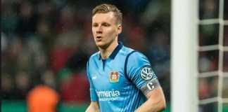 Napoli dikabarkan selangkah lagi dapatkan kiper Bayer Leverkusen, Bernd Leno.