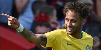 Neymar tak berniat mengejar rekor gol dua top skorer Brasil, Ronaldo Luís Nazario de Lima dan Pele.