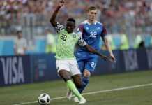 Nigeria bertemu Islandia di laga ke dua Grup D yang digelar di Volgograd Arena, Jumat (22/6) malam ini.