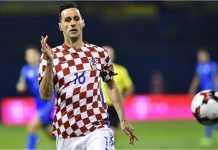 Nikola Kalinic, striker AC Milan, ngambek bermain di Piala Dunia 2018 dan kini dipiulangkan ke rumah orang tuanya, Senin.