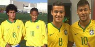 Philippe Coutinho dan Neymar, Timnas Brasil Piala Dunia 2018