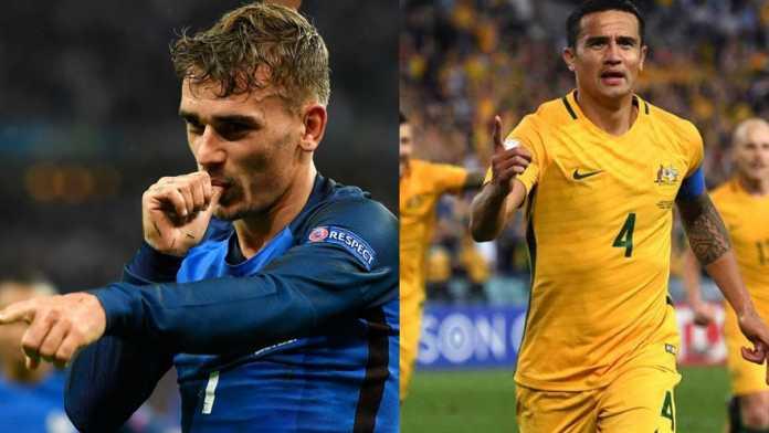 Hasil gambar untuk Perancis vs Australia
