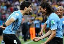 Uruguay diprediksi menghujani gawang Arab Saudi pada laga kedua Grup A Piala Dunia 2018 dengan banyak gol, setelah penampilan mengecewakan tim Asia itu pada laga hari pertama lawan Rusia.
