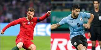 Shaheen si Unta dan Achilles si kucing meramalkan hasil berbeda untuk laga Uruguay vs Portugal di Piala Dunia 2018.