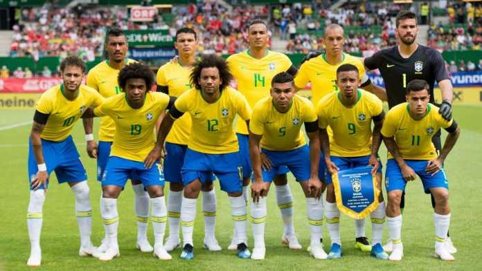 Profil Timnas Brasil untuk Piala Dunia 2018