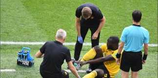 Romelu Lukaku absen dari sesi latihan Timnas Belgia jelang laga kontra Timnas Inggris, Jumat (29/6), akibat cedera engkel.