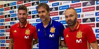 Julen Lopetegui dikenal memiliki hubungan dekat dengan para pemainnya di skuad Spanyol, termasuk dua kapten: Sergio Ramos dan Andres Iniesta