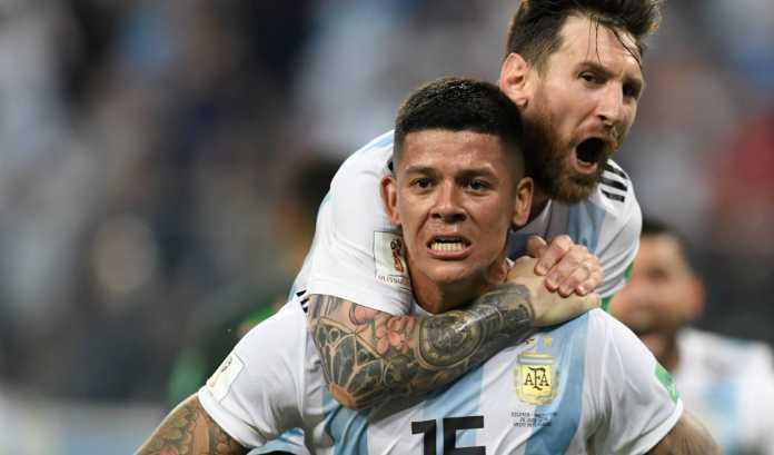 Skuad Timnas Argentina, Lionel Messi Marcos Rojo