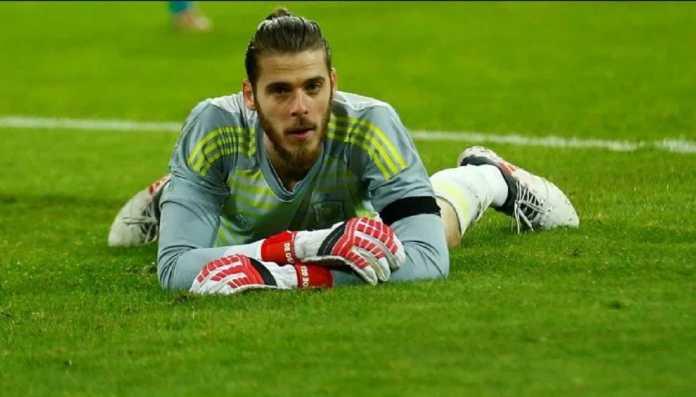 Spanyol tetap percaya kiper Manchester United, David de Gea, untuk tampil di Piala Dunia 2018.