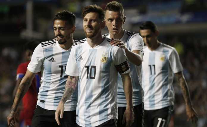 Timnas Argentina di Piala Dunia 2018 Rusia