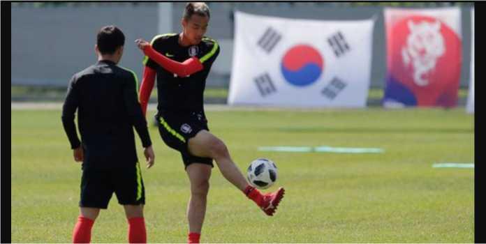 Sesi latihan Korea Selatan di Piala Dunia 2018 diwarnai isu mata-mata oleh timnas Swedia.