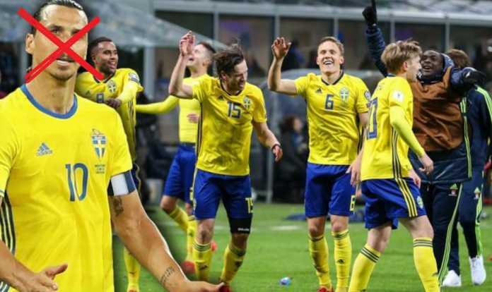 Timnas Swedia untuk Piala Dunia 2018 tanpa Zlatan Ibrahimovic
