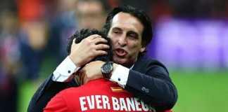 Unai Emery berharap reuni dengan mantan pemainnya di Sevilla, Ever Banega, di Arsenal.