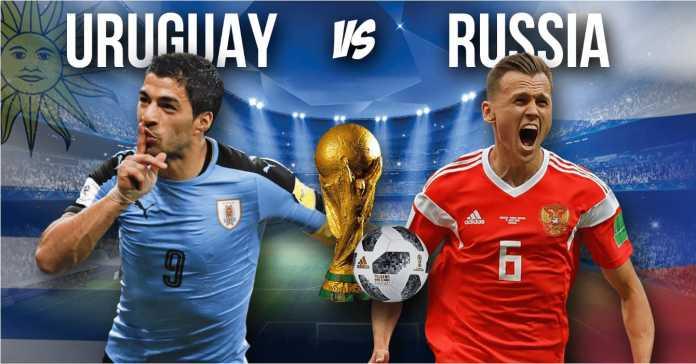 Uruguay vs Rusia malam ini di Samara Arena memperebutkan posisi puncak Grup A, yang secara teoritis akan memperoleh lawan lebih mudah dari Grup B.