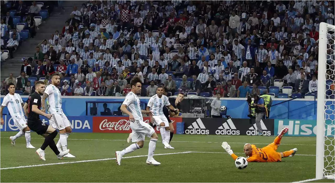 highlights cuplikan gol argentina vs kroasia 22 06 2018