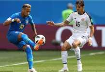 Video Highlights Cuplikan Gol Brasil vs Kosta Rika, 22/06/2018