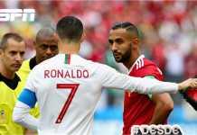 Ada kabar bahwa wasit Mark Geiger asal Amerika Serikat, begitu terpesona dengan Cristiano Ronaldo, dan meminta jerseynya saat turun minum laga Piala Dunia 2018 antara Portugal vs Maroko. Hal ini bisa dikategorikan suap.