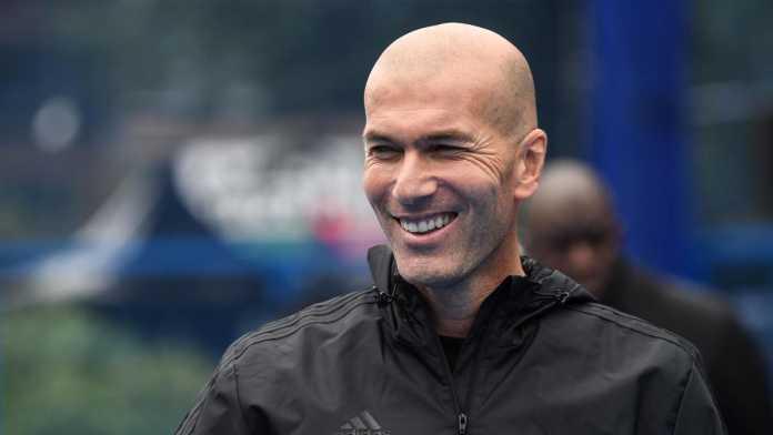 Zinedine Zidane mantan manajer Real Madrid