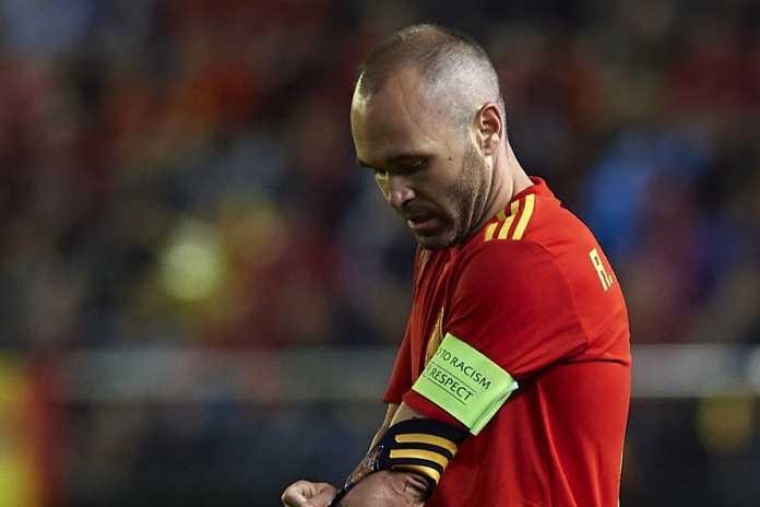 Andres Iniesta Pensiun dari Timnas Spanyol