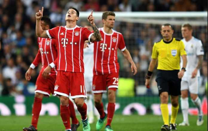 Berita Liga Jerman, Bayern Munchen, Real Madrid, James Rodriguez