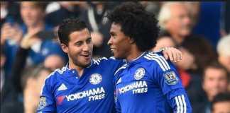 Berita Transfer, Real Madrid, Chelsea, Eden Hazard, Willian