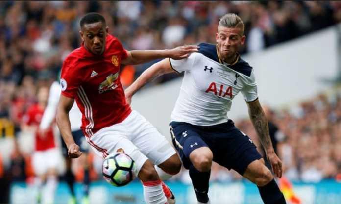 Berita Transfer, Tottenham Hotspur, Manchester United, Toby Alderweireld, Anthony Martial